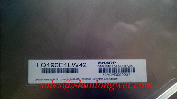 Sharp LQ190E1LW42 In-Stock