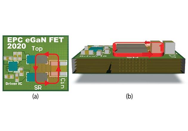 Layout Considerations for GaN Transistor Circuits