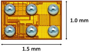 GaN laser driver has LVDS logic inputs