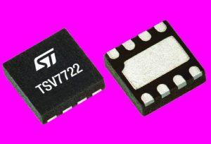 22MHz precision dual op-amp draws 3.4mA