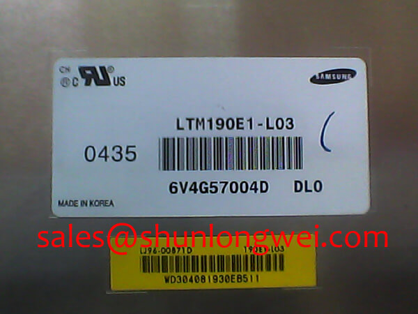 SAMSUNG LTM190E1-L03 In-Stock