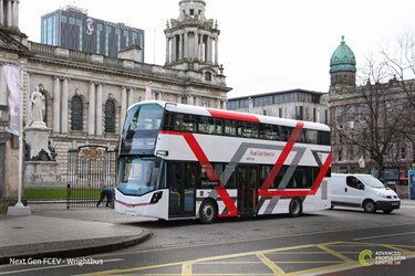 Government announces £54m funding for next-gen hydrogen buses