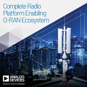 ADI develops O-RAN radio unit