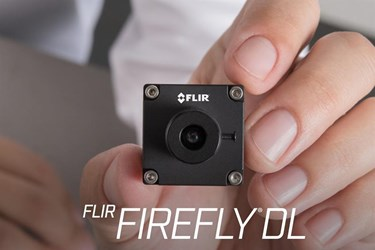 First AI-powered industrial cameras for Industry 4.0