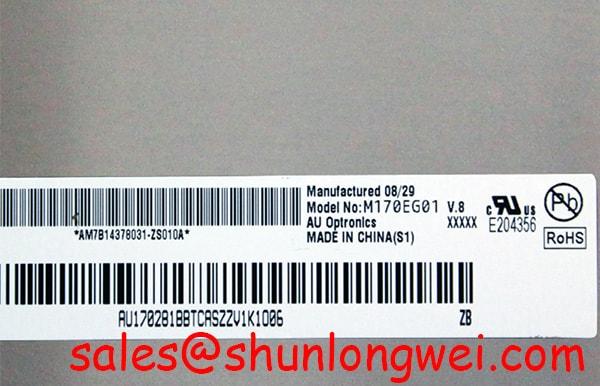 AUO M170EG01 V8 In-Stock