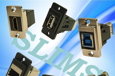 Cliff add DualSLIMS FeedThrough connectors to existing SLIMS range
