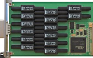 Reed relay handles multi-kV 100W switching