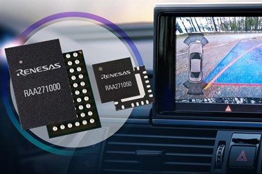 Power and functional safety solution for ADAS camera system