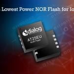 Dialog adds power-efficient SPI NOR memories
