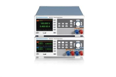 R&S NGA100 delivers linear accuracy to basic power supply class
