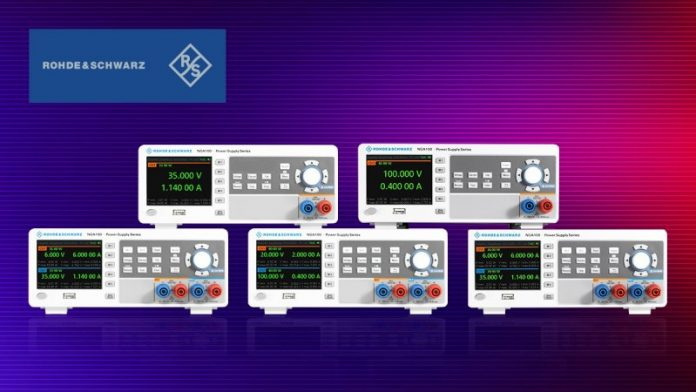 element14 now Stocking New Rohde & Schwarz NGA100 Power Supply Series