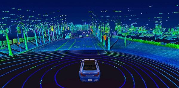 More Efficient Lidar Sensing for Self-Driving Cars