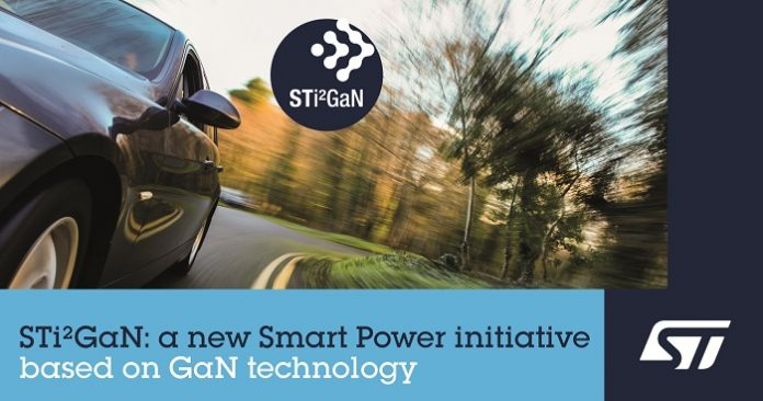 STMicroelectronics Introduces High-Performance GaN Family for Automotive Applications