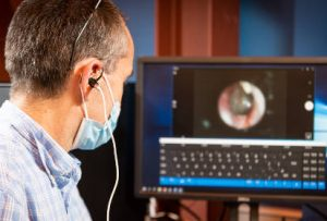 Tense your inner ear to control a computer