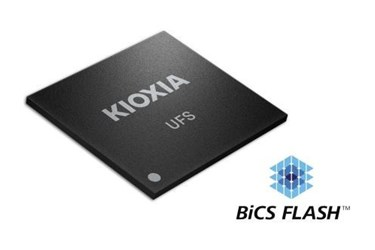 KIOXIA unvels Ver 3.1 UFS Embedded Flash Memory Devices