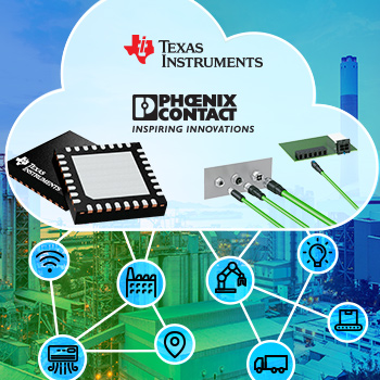 Mouser Presents Single Pair Ethernet Site from Texas Instruments and Phoenix Contact