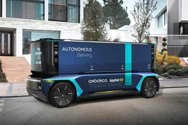 Oxbotica and AppliedEV to develop fully autonomous multi-purpose vehicle