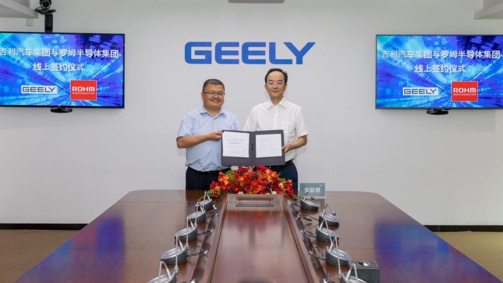 Rohm and Geely form auto tech development partnership