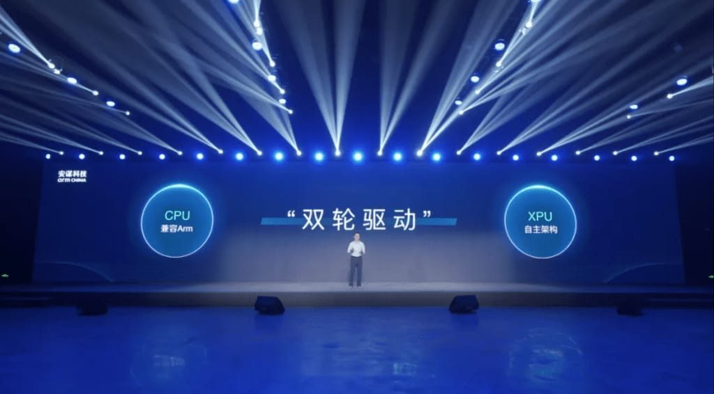 Arm's China business threatened