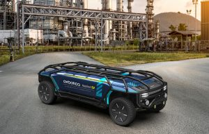 Driverless EV for goods delivery