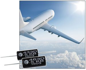 Teflon high film capacitors can tolerate up to 150°C without derating