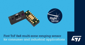 STMicro upgrades multi-zone FlightSense ToF sensor