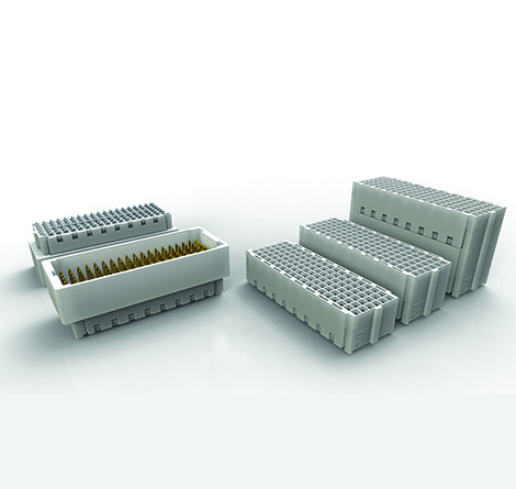 High-speed XMC mezzanine connectors feature a lower extraction force