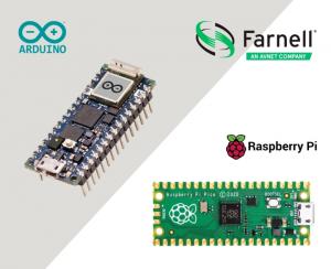 Farnell ships Arduino Nano and Raspberry Pi Pico development boards