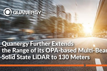 Quanergy extends range of OPA-based multi-beam solid state LiDAR